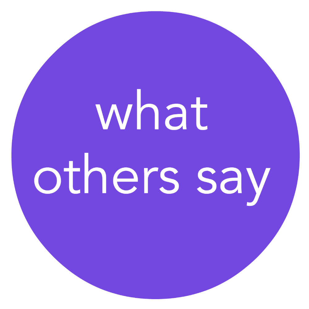 what others say - 1